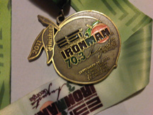 Augusta 70.3 Half Ironman 2011 Finisher Medal